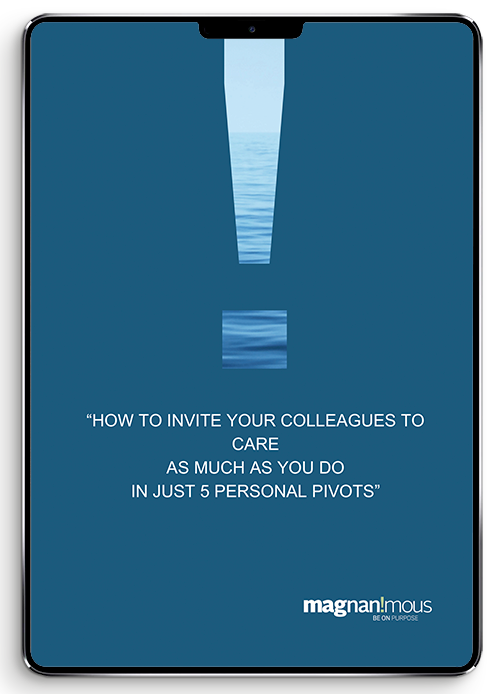 how to invite your colleagues to care as much as you do magnanimous ebook